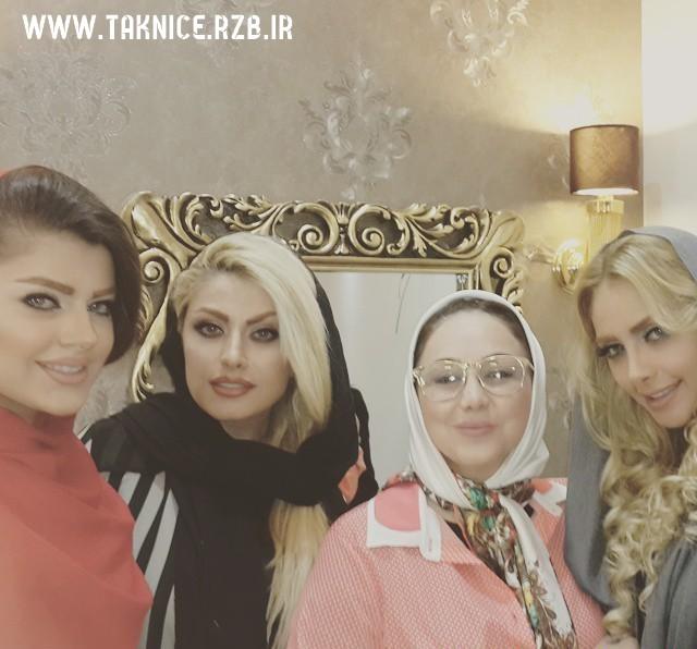 عکس بهنوش بختیاری با مدل های ایرانی